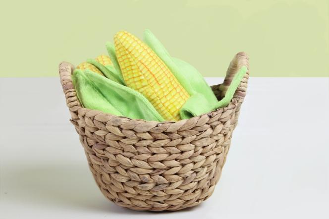 Corn Plush Dog Toys by Ecohug